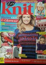 Let's Knit Magazine - November  2013 - Issue 73