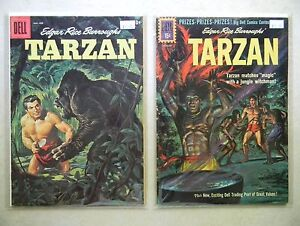 Tarzan #116 125 $28.00 LOT (1960, Dell) GORILLA COVER Manning BROTHERS OF SPEAR