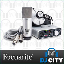 Focusrite iTrackstudio with Studio Mic & Headphones Recording Interface - BNI...