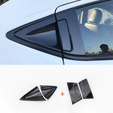Carbon fiber Car Rear Door Handle Bowl Cover Trim For Honda Vezel HR-V HRV