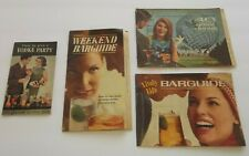 BARGUIDES & VODKA PARTY BOOKLETS 1964 World's Fair Smirnoff Lively Life Alcohol