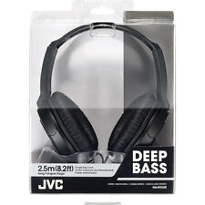 Genuine JVC HA-RX330-BK Full Size Over-Ear Headphones HARX330BK  Black