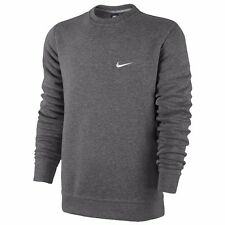 NIKE Men's Club Swoosh Fleece Crew Sweatshirt Jumper - Size S to 3XL - OZ STOCK!