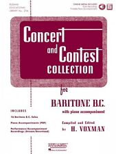 Concert and Contest Collection for Baritone B.C. Book and Audio Rubank 004470007