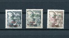 1949.GUINEA.EDIFIL 273/273A/274**.NUEVOS SIN FIJASELLOS.(MNH).CATALOGO 10 €