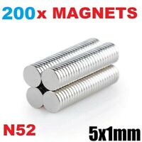 Powerful Super Strong Magnets 10mm x 1mm 0.5Kg PULL* Thin Small Disc Magnet