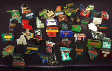 ALL 50 STATE LAPEL PIN SET HAT TAC NEW PLUS DC NEW