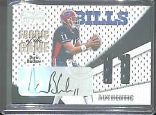 2004 Leaf Certified Fabric of the Game Relic Autograph #FG31 Drew Bledsoe 7/11