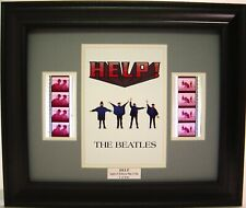 THE BEATLES HELP! MOVIE FRAMED FILM CELL