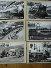 2010 PHQ 340 GREAT BRITISH RAILWAYS SET OF 6 FDI FRONT SPECIAL H/S