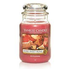 YANKEE CANDLE candela profumata giara grande Home Sweet Home durata 150 ore
