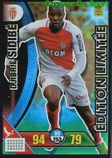 LE-DS DJIBRIL SIDIBE AS.MONACO LIMITED EDITION CARTE CARD ADRENALYN 2018 PANINI