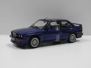 1:18 2020 BMW E30 M3 (Blue) Solido S1801509