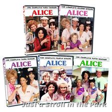 Alice: Linda Lavin Sitcom TV Series Complete Seasons 1 2 3 4 5 Box / DVD Set(s)
