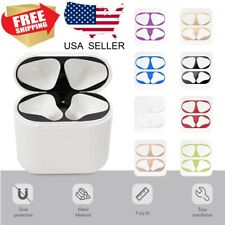 Metal Dust Guard Protective Film Sticker For Apple Airpods AirPod Accessories