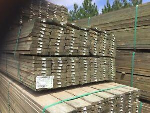 150x 25  treated pine h4 sawn garden edging