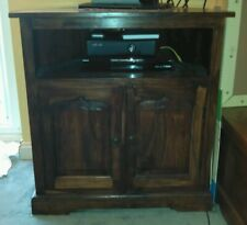 TV cabinet gorgeous dark wood