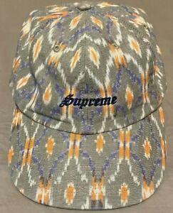 Supreme Hat Iket 6-Panel Strap Back- Tan New Hat (2021) ~FREE SHIPPING~