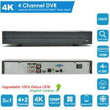 Dahua Oem 4Ch 4K H.265+ Dvr Xvr Cvi/Tvi/Ahd/Cvbs/Ip 5in1 Digital Video Recorder