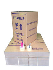 40 X 100L MOVING BOXES+REMOVALIST PACKAGE+40 FREE moving label DEAL pick up only