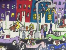 "James RIZZI: Original 3D ""NIGHT OUT"", handsigniert, 1984, 150er Auflage"