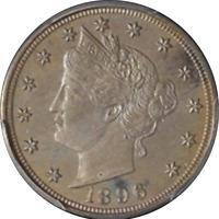 1896 Liberty V Nickel PCGS PR65 Not The Prettiest But Wonderfully Original
