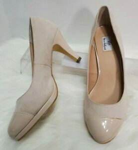 Hot In Hollywood 319624 Women's 9W Wide Ivory Cream Nude Sillito Heel Shoe S-99