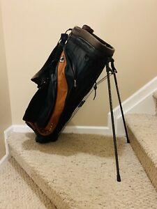 Callaway Golf Adrenaline Stand Bag- Black/Orange, 5 Way Divider- GREAT CONDITION