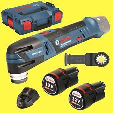 BOSCH Herramienta de batería Multi Función GOP 12v-28 2x 2,0Ah baterías +