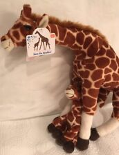Toys R Us Safe The Giraffes Mother and Baby Plush New With Tag Geoffrey