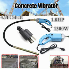 1300W Electric Hand Concrete Vibrator Motor Tool 150cm Poker Bubble Remover Usa