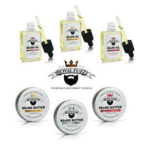 Beard Oil 30ml & Butter 25ml  | Choose Fragrance | ROYAL FUZZ ®