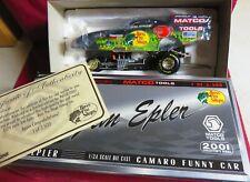 JIM EPLER 1/24 2001 RC--MATCO TOOLS CAMARO FUNNY CAR, BASS PRO SHOPS