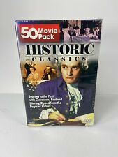 50 Historic Classic Movies DVD Box Set Brand New Movie Pack Journey To The Past