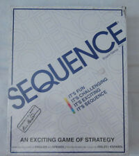 Sequence Game by Jax - Strategy Board Game NEW Sealed 1995 #8002