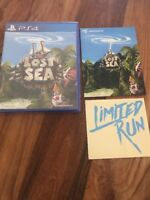 PS4 Lost Sea - LRG Limited Run Games Neuf New Sticker & Carte