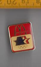 OLYMPIC GAMES pin badge 1984 LOS ANGELES LA USA McDonalds Logo