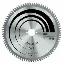 Bosch Optiline Wood circular saw blade 216 x 30 x 2.0 mm. 24 2608640431