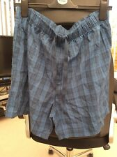 Mens Asda George Pyjama Shorts Size Large