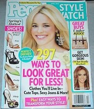 People Magazine April 2012 Style Watch Rachel McAdams Jennifer Lopez Eva Mendes