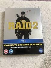The Raid 2 Blu-Ray Steelbook Used Like New