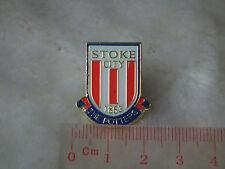 kiTki Stoke City badge pin brooch metric soccer football club souvenior england