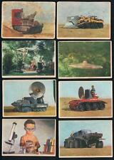 1966 Somportex Thunderbirds Color Series Trading Cards Near Set of 71/73