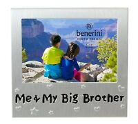Me & My Big Brother Photo Picture Frame Birthday Christmas Sibling Bro Gift Idea