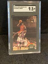 Michael Jordan 1992-93 Topps Stadium Club SGC 9.5 Mint + Low Pop Chicago Bulls