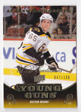 10-11 Upper Deck Andrew Bodnarchuk /100 UD Exclusives Young Guns Rookie 2010