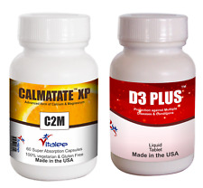 Bone Combo Pack-Vitamin D3 Plus & Calmatate XP (2x60ct )
