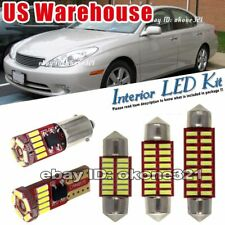 13-pc Luxury Xenon White Interior LED Lights Package Kit Fit 04-06 Lexus ES330