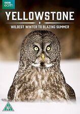 YELLOWSTONE Dal Selvaggio Inverno alla Fiammante Estate DVD in Inglese NEW .cp