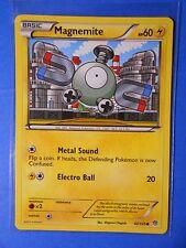 Magnemite 42/135, 4x Magneton 44/135 Pokemon TCG card BW Plasma Storm NM